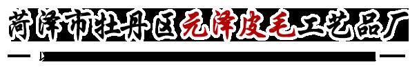 菏泽市牡丹区元泽皮毛工艺品厂